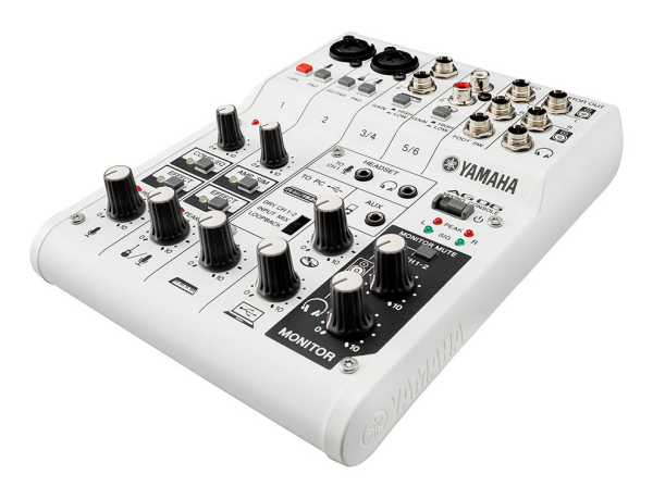 Yamaha AG06 Mischpult und Audio Interface