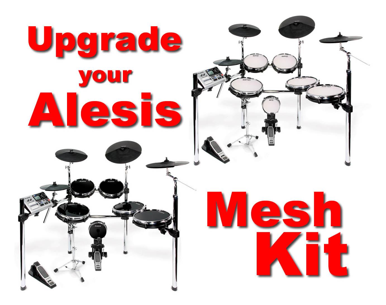 drum tec mesh upgrade for alesis dm10x kit design mesh heads drum tec. Black Bedroom Furniture Sets. Home Design Ideas