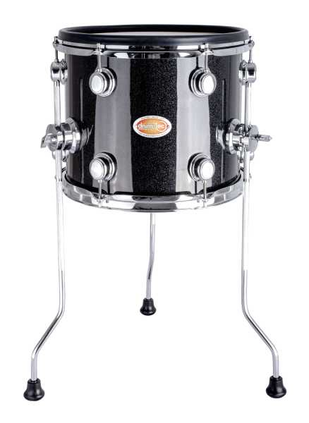 Drum Tec Jam 12 Quot Floor Tom 1st Generation Black Sparkle