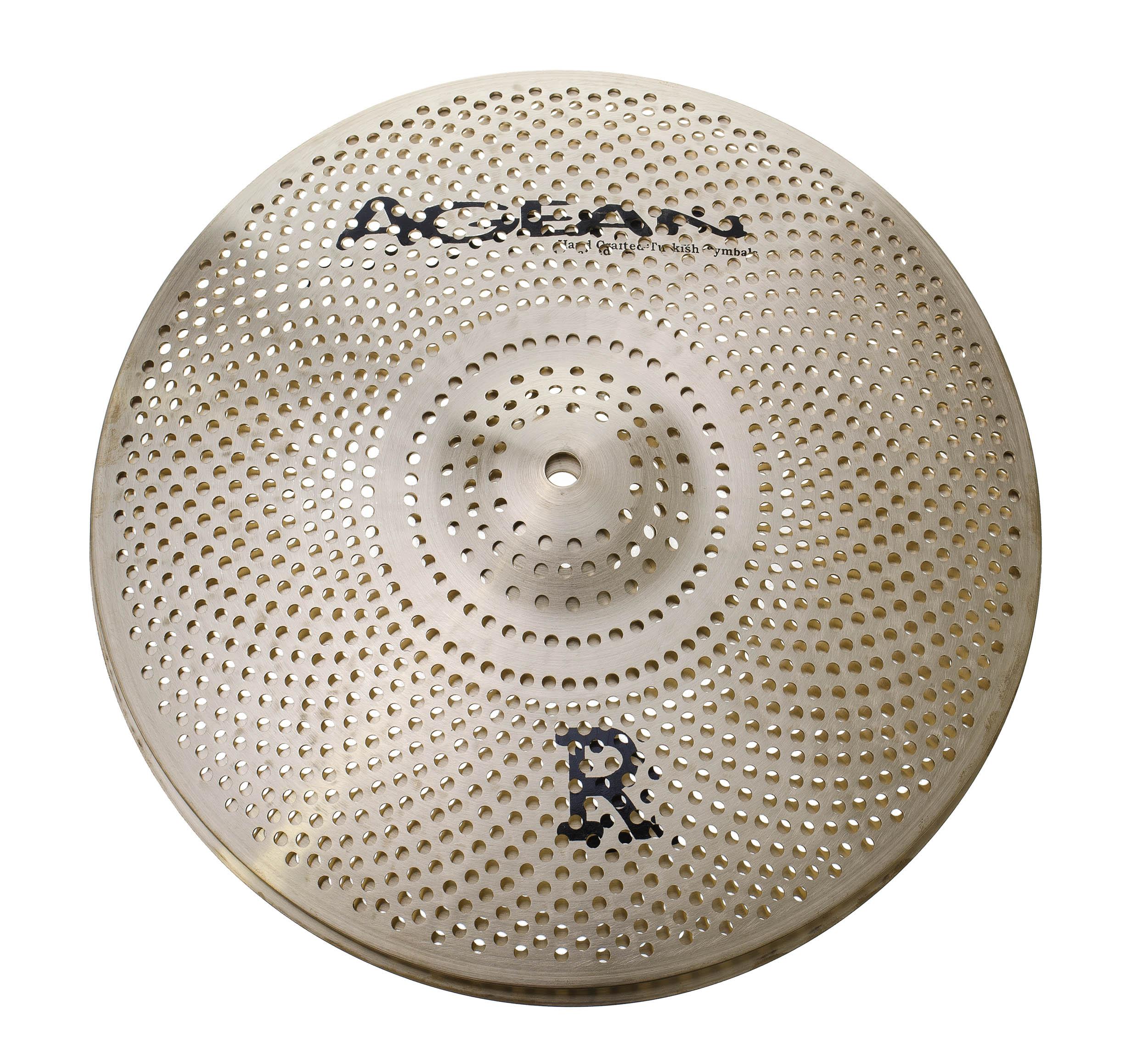 agean r low noise 14 hi hat real feel practice hi hat cymbal drum tec. Black Bedroom Furniture Sets. Home Design Ideas